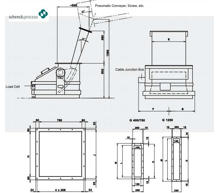 BAN VẼ THIẾT KẾ SẢN PHẨM MULTISTREAM-G Solids Flow Meter