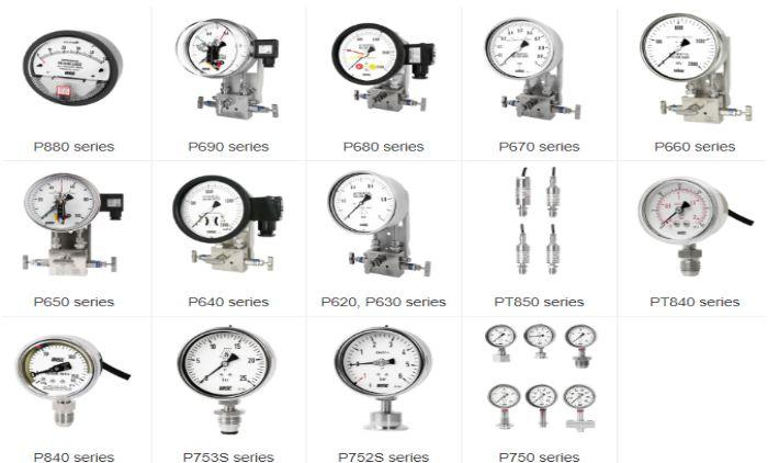 Đồng hồ đo chênh lệch áp suất Wise