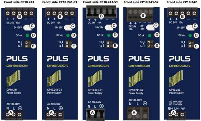 Bộ Nguồn CP10.241 PULS DIN-RAIL