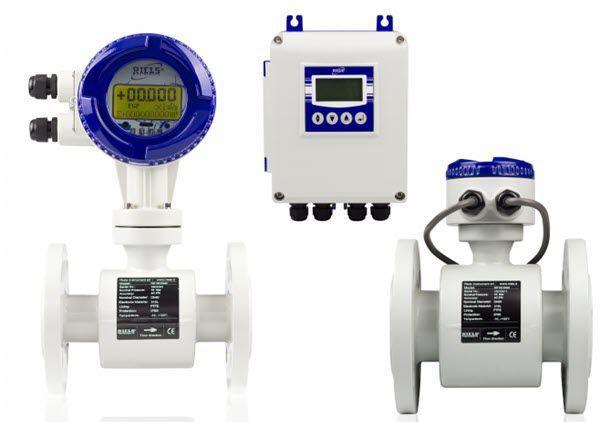 Đồng Hồ Đo Lưu Lượng Điện TừRIF100 Riels - RIF100 Electromagnetic flowmeter Riels
