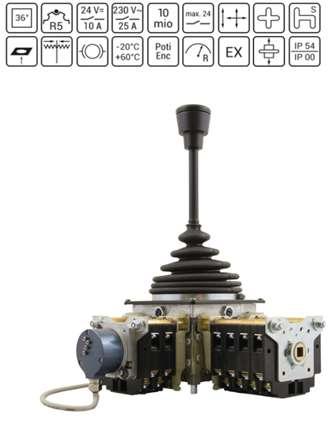 Tay Trang Điều Khiển VNS2 - Cần Điều Khiển Joystick VNS2 - Spohn Burkhardt