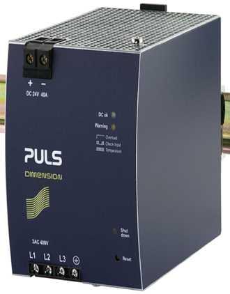 Bộ Nguồn XT40.241 PULS, DIN-rail Power Supplies PULS