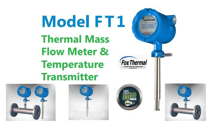 Đồng Hồ Đo Lưu Lượng Khí FT1 FoxThermal Mass