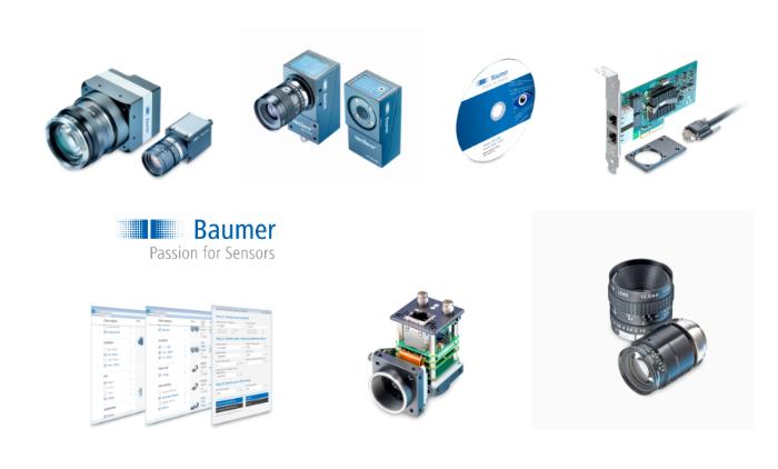 Camera công nghiệp vàxử lý ảnhBaumer