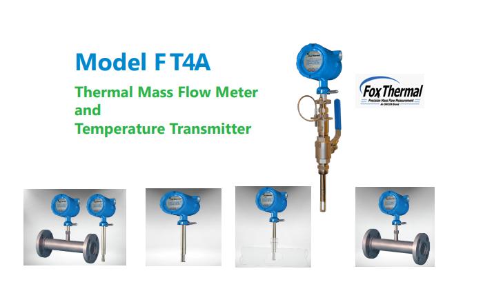 Đồng Hồ Đo Lưu Lượng Khí Dạng Thermal Mass FT4AFox Thermal| Fox Thermal Model FT4A Thermal Gas Mass Flow Meter