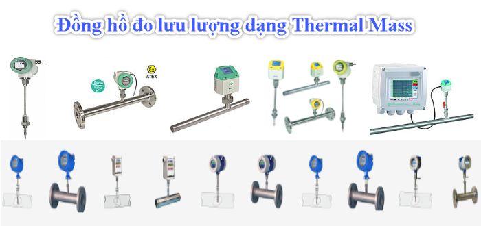 Đồng hồ đo lưu lượng dạng Thermal Mass