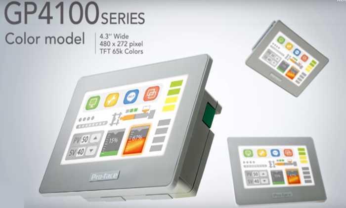 Màn Hình Cảm ỨngHMIGP4100 Series