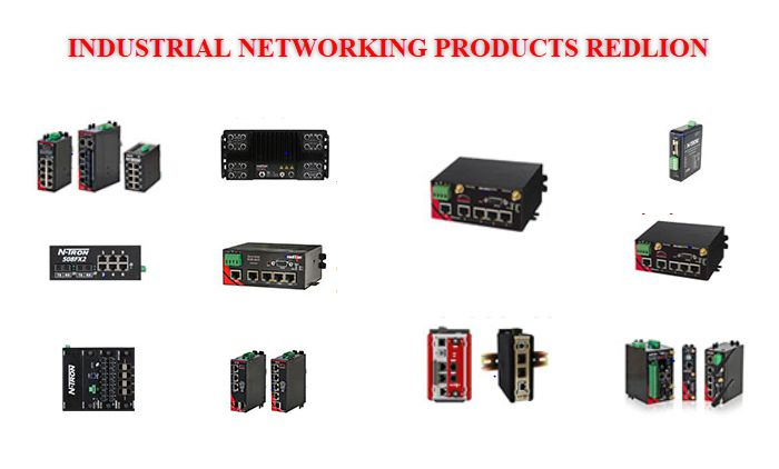 INDUSTRIAL NETWORKING PRODUCTS redlion
