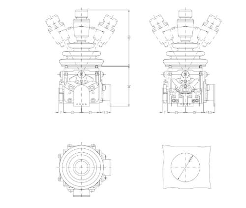 - Bảng VẽCần Điều Khiển ST4| Tay Trang Điều Khiển ST4 | Joystick ST4Spohn Burkhardt