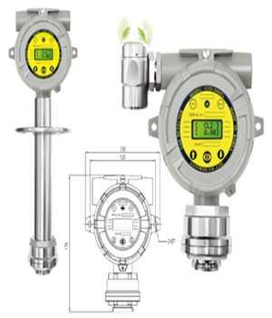 Thiết Bị Phát Hiện Khí Độc ( Oxygen / Toxic Gas Detector)