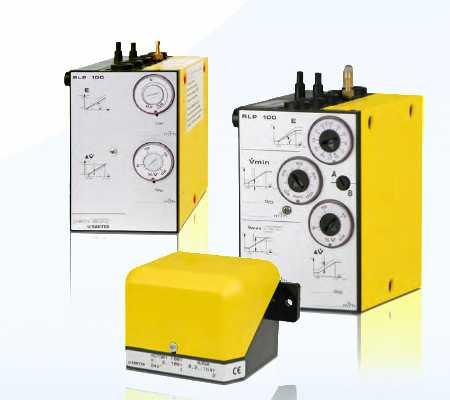 Pneumatic control and regulating equipment