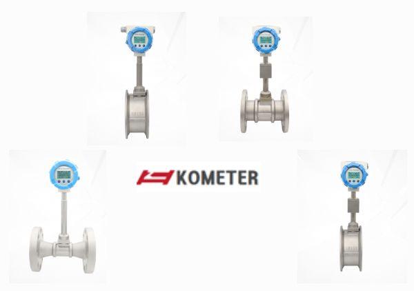 Đồng Hồ Đo Lưu Lượng Dạng bù nhiệt độ và áp suất Kometer