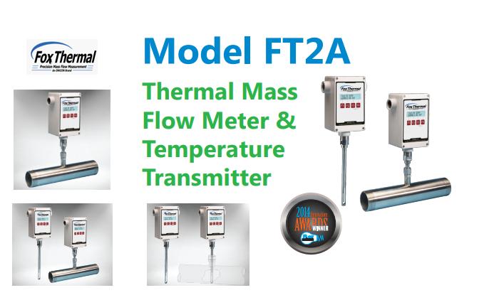 Đồng Hồ Đo Lưu Lượng khí dạngThermal MassFox Thermal ModelFT2A|Fox Thermal Model FT2AThermal Gas Mass Flow Meter