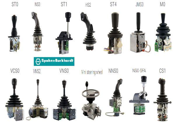 JoysticksSpohn Burkhardt|Cần chỉnh hướng Spohn Burkhardt |Cần lái Spohn Burkhardt |Cần điều khiển Spohn Burkhardt