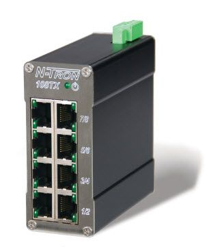 108TX-HV Industrial Ethernet Switch Control N-Tron red lion, red lion vietnam