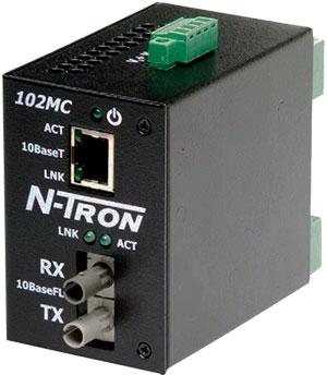 Bộ chuyển đổi tín hiệu ethernet sang tín hiệu cáp quang RED LION, 102MC RED LION