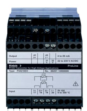 Bộ chuyển đổi tín hiệu nhiệt độ ProLine  P 44000 Knick - Knick việt nam