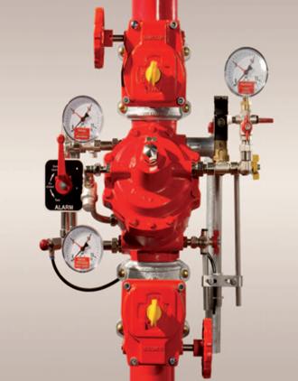 Bộ van cấp nước chữa cháy FSX Minimax - Đại lý Minimax Việt Nam