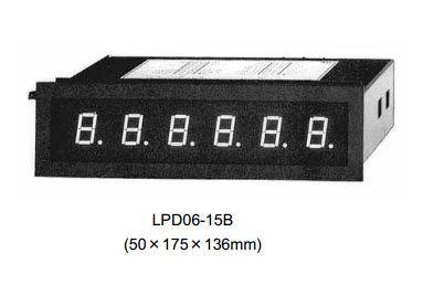 Display for 50mm mosaic (BCD) LPD06-15B Daiichi, DAIICHI vietnam