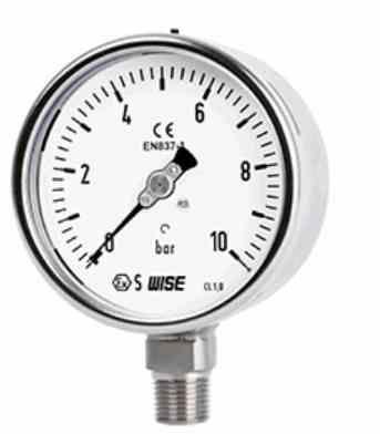 Đồng hồ đo áp suất công nghiệp Model P252 Wise - Đại lý Wise tại VietNam