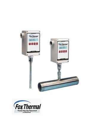 Đồng Hồ Đo Lưu Lượng Khí Thermal Mass FT2A Fox Thermal, Đại Lý FoxThermal Việt Nam