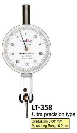 Đồng hồ so đo trục khuỷu LT-358 teclock vietnam