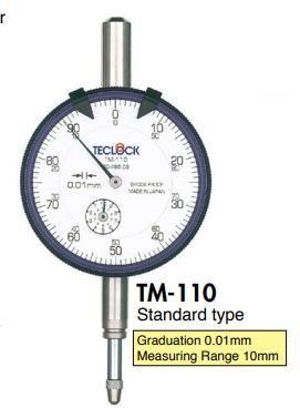 Đồng hồ so TM-110 Teclock vietnam
