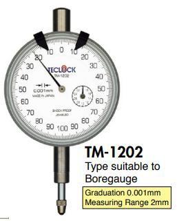 đồng hồ so TM1202 teclock, TM-1202 teclock vietnam