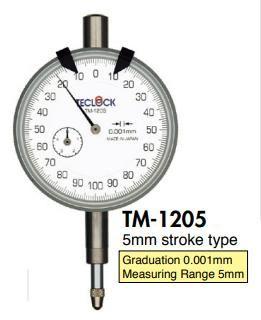 đồng hồ so TM-1205 Teclock, Teclock vietnam