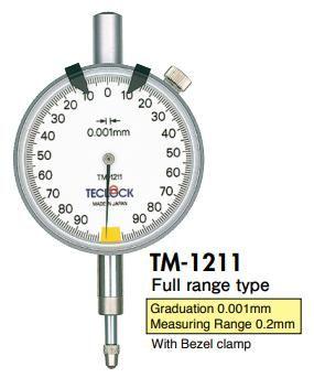 đồng hồ so TM-1211 Teclock vietnam