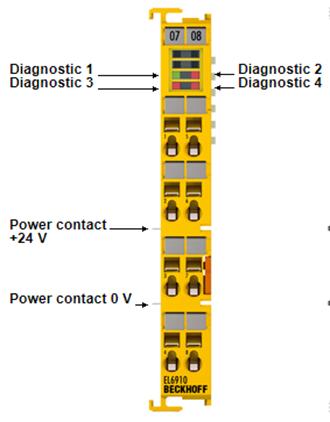 Module I/O beckhoff, EL6910 TwinSAFE Logic beckhoff , beckhoff vietnam
