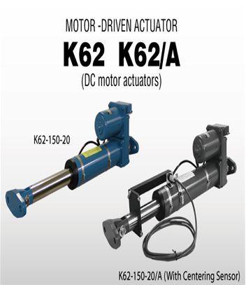 Motor-Driven Actuator K62, Bộ điều khiển vị trí K62/A, K12 series Nireco