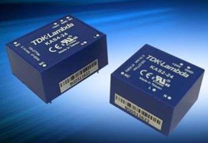 Nguồn cấp điện đầu vào KAS2-3P3 TDK Lambda, KAS2-12, KAS4-24