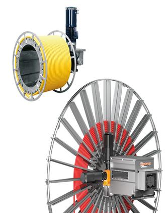 Series HD Motor Driven Reels High Dynamics conductix, conductix vietnam