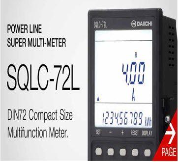 SQLC-27L DAIICHI, Power link super multi-meter SQLC-72L, Daiichi vietnam