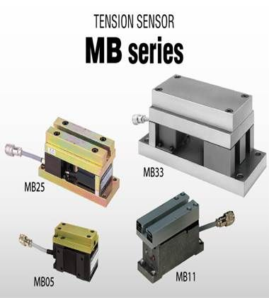 Tension Sensor MB05B, MB11A, MB25B, MB33A, MB41 Nireco