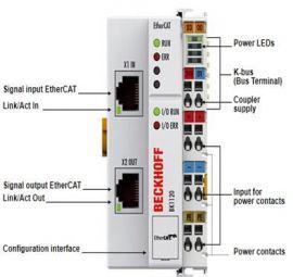BK1120  EtherCAT Coupler for standard Bus Terminals, Beckhoff Vietnam