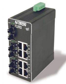 Công tắc chuyển tiếp mạng Ethernet công nghiệp 711FX3 Redlion