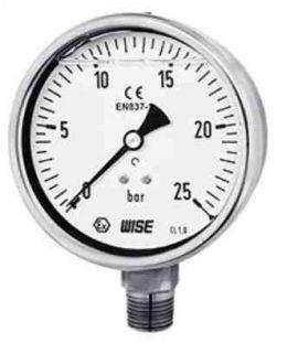 Đai ly Wise tại vietnam- đồng hồ đo áp suất công nghiệp model P258