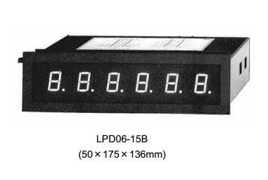 Display for 50mm mosaic (BCD) LPD06-15B Daiichi, DAIICHI vietnam