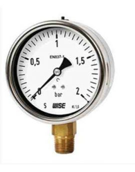 Đồng hồ đo áp suất P235 Wise, wise việt nam