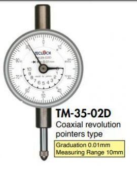 Đồng hồ so TM35-02D Teclock vietnam