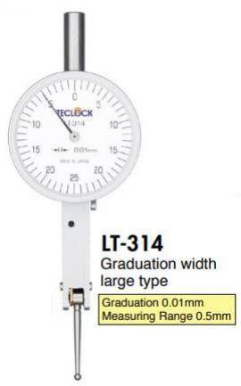 Đồng hồ so LT-314 teclock, teclock vietnam