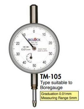 đồng hồ so TM-105 Teclock vietnam