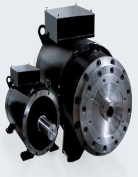 Động cơ điện kết hợp diesel, Baumuller DST2, Baumuller vietnam