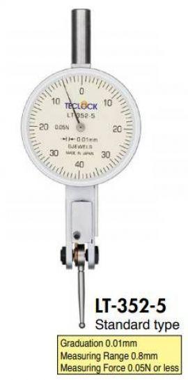 LT-352-5 Teclock vietnam, đông hồ so đo trục khuỷu teclock