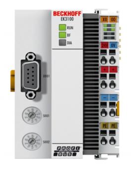 Module I/O beckhoff, EK3100 PROFIBUS Bus Coupler for EtherCAT Terminals, Beckhoff vietnam