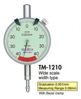 TM-1210 Teclock, Đòng hồ so TM-1210 Teclock