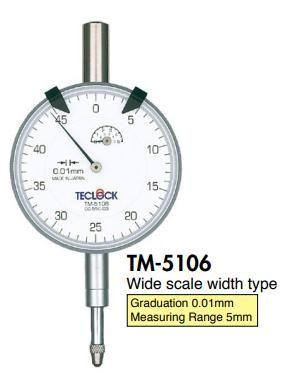 TM-5106 Teclock, đồng hồ so TM5106 Teclock